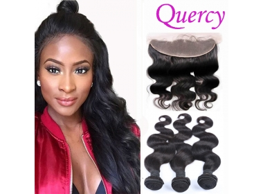 Hair bundles + lace frontal