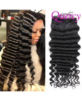 10A lace closure 4*4inch  deep wave