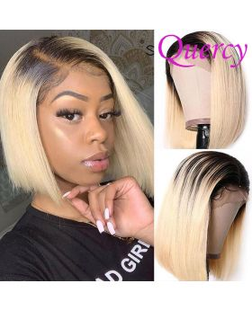#T1b/613 lace front Bob wig straight