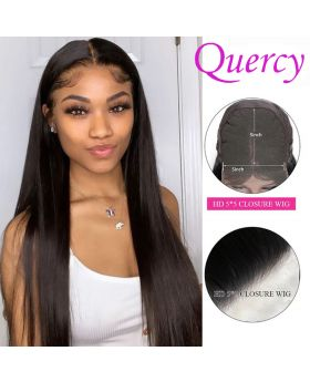 HD 5*5 lace closure wg 150% straight