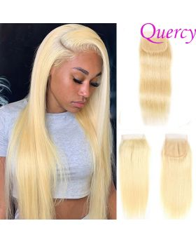 #613 9A 1pc lace closure 4*4inch  straight