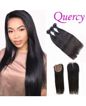 9A 3 bundles with lace closure straight