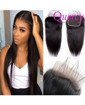 9A lace closure 4*4inch straight