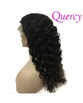 10A lace front wig 130% deep wave
