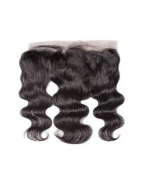 7A lace frontal 13*4inch body wave