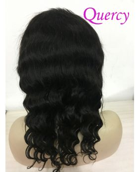 7A lace front wig 130% loose deep wave