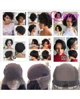 Pixie 13*6 lace front wig 150%