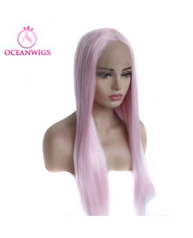 Synthetic lace front wig SF-002