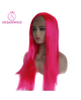 Synthetic lace front wig SF-004