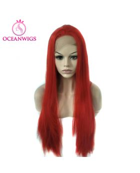 Synthetic lace front wig SF-006