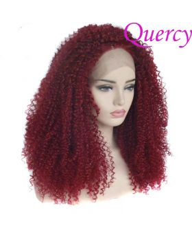 Synthetic lace front wig SF-012