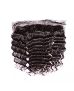 7A lace frontal 13*4inch deep wave