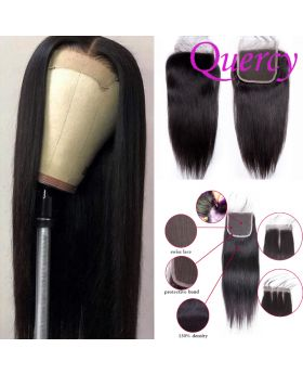 8A lace closure 4*4inch straight