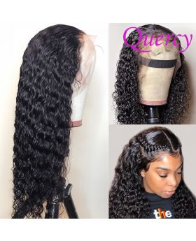 13*4 lace front wig water wave 150% density