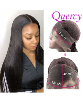10A lace front wig 130% straight