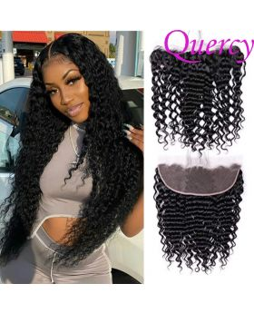 8A lace frontal 13*4inch deep wave