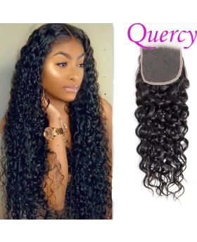 10A lace closure 4*4inch water wave