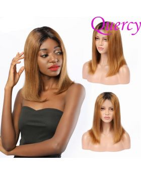 T1B/30 13*4 lace front bob straight wig
