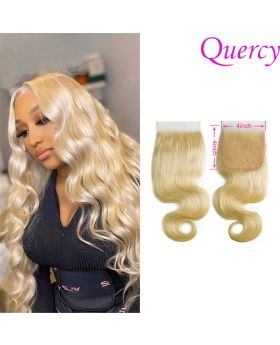 #613 9A 1pc lace closure 4*4inch  body wave