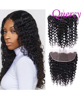 10A lace frontal 13*4inch deep wave