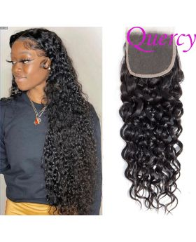 9A lace closure 4*4inch water wave