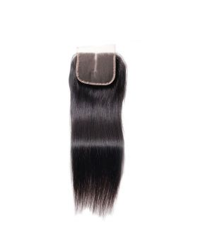 7A lace closure 4*4inch straight