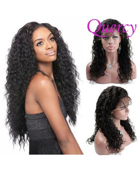 10A lace front wig 130% curly