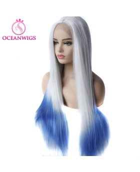 Synthetic lace front wig SF-014