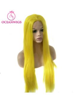 Synthetic lace front wig SF-007