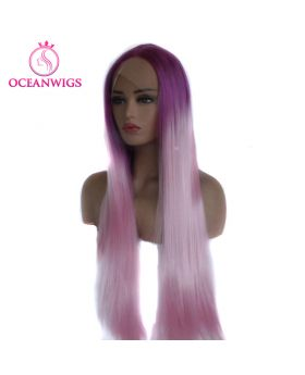 Synthetic lace front wig SF-008