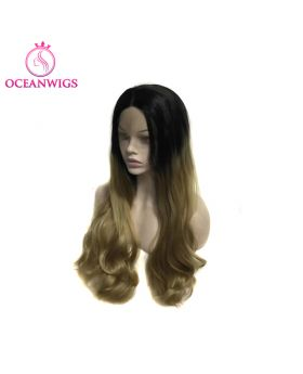 Synthetic lace front wig SF-015