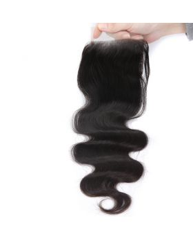 9A lace closure 4*4inch body wave